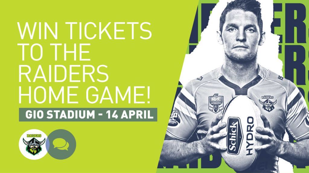 Canberra Raiders Tickets