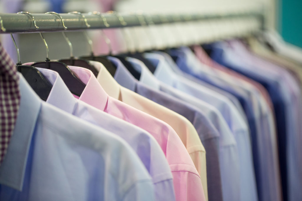 Dry cleaning services at Cafe Avion